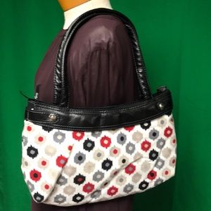 Thirty One Black Purse w/Changeable Outer Shell